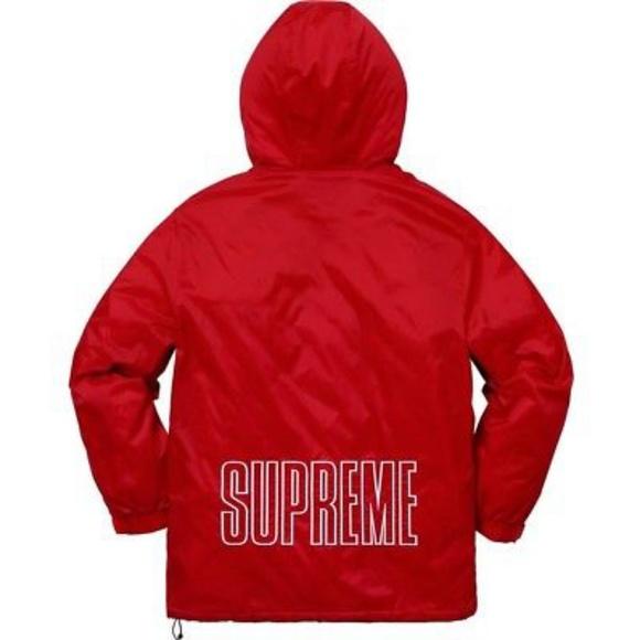 9077756f24af Supreme Champion Pullover Parka Red MEDIUM - SS18. NWT. SUPREME.  M 5adb60582ab8c58ca7e1ee82. M 5adb60442ae12f02f239e9dc.  M 5adb60a01dffda484d59fac2